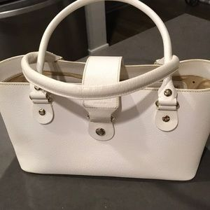 Kate Spade off white leather bag